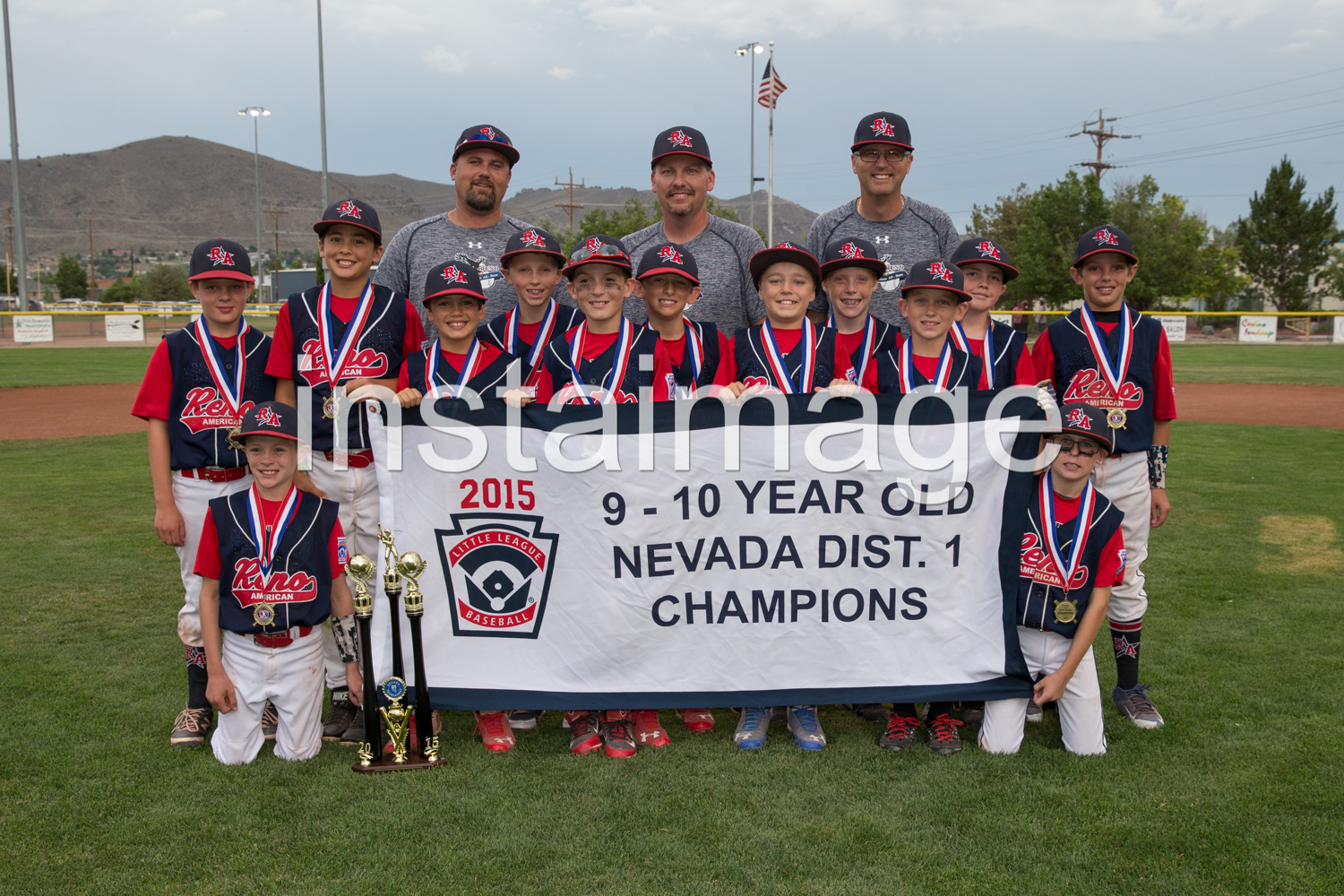Reno American Little League 10 Year Old Champions