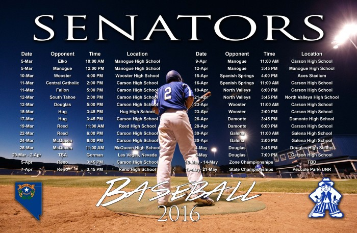 Carson High Baseball Schedule