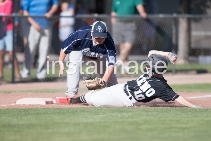 Marcus Sanders Slide into 3rd, Nevada All Star Little League