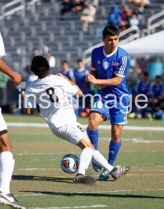 Blocked shot Galena High Soccer